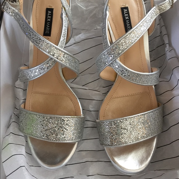 fa1e59a8269 Alex Marie Shoes - Alex Marie fancy night out shoes with box